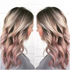 blonde bobbed hair with dark underneath 70 smoking hot rose gold hair color ideas for 2018