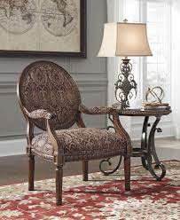 vanceton accent chair in brown ashley home gallery stores