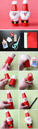 29 diy christmas crafts for kids to make plastic cups diy
