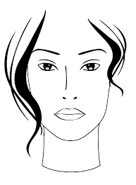 best makeup school blanco facecharts to create makeup looks on paper great for