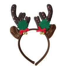 christmas headbands christmas kids headband reindeer antler hair hoop headpiece for