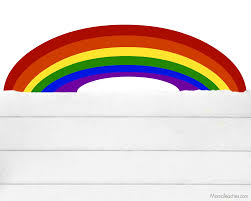 5 best images of rainbow writing paper printable rainbow writing