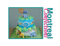 how to make a safari themed baby shower cake youtube