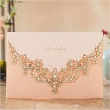 gold wedding invitations 2017 gold wedding invitations pink lace invitation card for
