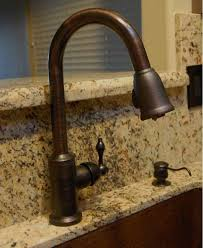 rubbed bronze kitchen faucets premier copper products k pd01orb rubbed bronze kitchen faucet