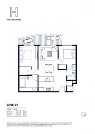 floor plan model 04 line04 atthe highlands north miami