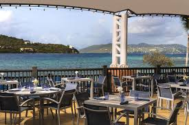 Patio Dining Restaurants by St Thomas Fine Dining Restaurants The Ritz Carlton St Thomas