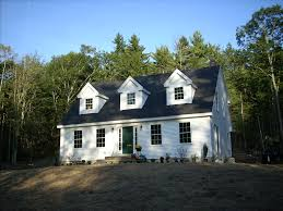 Modular Dormers New Modular Cape In Boothbay Brookewood Builders