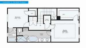 2 floor plans with garage estancia residential boynton intracoastal townhomes site