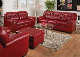 Made In Usa Leather Sofa Made In Usa Simmons Ac50635 Shi Cardinal Bonded Leather Sofa