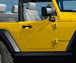 jeep wrangler 2 door hardtop black amazon com jeep wrangler half doors 1 2 door interior trim kit