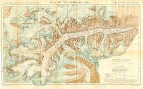 Himalayan Mountains Map 1935 Zemu Glacier Sikkim By Himalayan Journal Mcadd Pahar