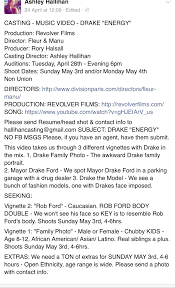 Subject To Send Resume Will Drake Be Portraying Rob Ford In Upcoming Video Clubzone Blog