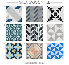 Tulum Tile Cement Tile Shop by Villa Lagoon Tile Cement Tile Pinterest