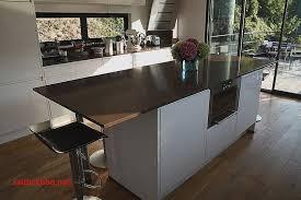 plan pour cuisine cuisine bois plan de travail noir maison design bahbe pour