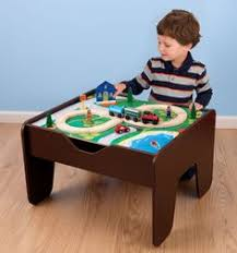 Kidkraft Train Table Natural 17851 Percy Tomy Trackmaster Thomas Motorised Battery Operated Train