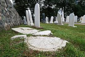 cemetery headstones historic cemetery in vandalized in potential