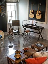 Home Music Studio Ideas by Stage Pictures From Hgtv Smart Home 2014 Chalkboard Walls