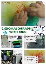 chromatography experiments with kids 5 ways markers forensics