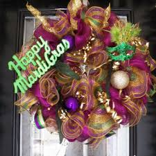 mardi gras door decorations shop mardi gras mesh on wanelo
