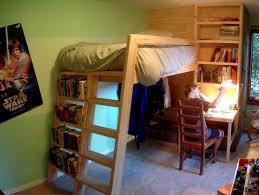 Build A Loft Bed With Desk by Diy Loft Bed