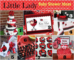 ladybug baby shower invitations decorations baby gear gallery
