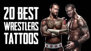 20 best wwe wrestlers tattoos youtube