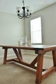 ana white dining room table holy cannoli we built a farmhouse dining room table diy