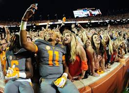 Tennessee travel fan images The 12 college football teams with the most diehard fans jpg