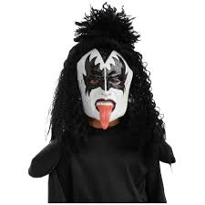 Gorilla Mask Halloween by Halloween Resource Center Inc The Demon Costume 1 2 Mask Kiss