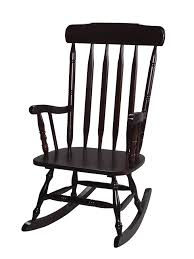 Wooden Rocking Chairs Nursery Black Wood Rocking Chair For Nursery Luxurious Furniture Ideas