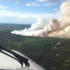 Alaska Wildfire Safety by Firefighters Respond To Wildland Fire Near Sterling Peninsula