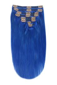 blue hair extensions blue hair extensions clip in and bonded scarlet