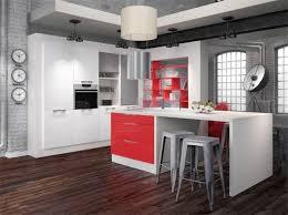 deco cuisine blanche et grise cuisine grise et cool deco cuisine gris blanc with