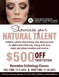 makeup classes milwaukee institute of beauty and wellness save 500 november