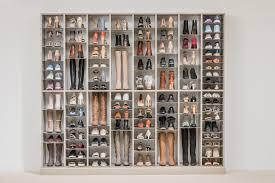 shoe organizer adjustable shoe organizer easyclosets