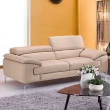 Leather Sofa Beige Leather Sofas
