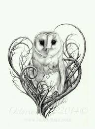 51 best owl and moon tattoos images on pinterest draw drawings