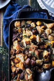 bread dressing recipes for thanksgiving butternut squash and wild mushroom stuffing hbh