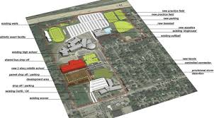 Floor Plans For Schools Portage Schools Oks Campus Master Plans For Middle Schools Pools