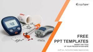 basic tools for diabetics powerpoint templates