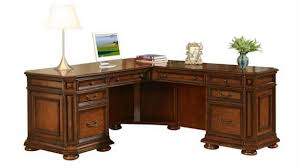 Solid Wood L Shaped Desk Office Furniture 1 800 460 0858 Trusted 30 Years Experience