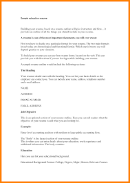 What To Have On Your Resume What To Put In The Education Section Of A Resume Resume For Your