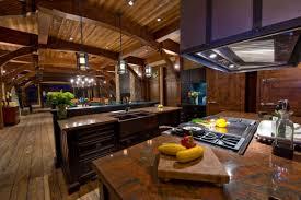 kitchen ranch kitchen design with dark rustic kitchen island and