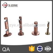 Copper Curtain Rod Brackets Different Styles Of Curtain Rods Accessories Double Aluminum