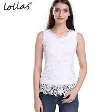 white sleeveless blouse lollas plus size lace vintage sleeveless blouse white