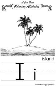 coloring alphabet traditional island coloring pages printable