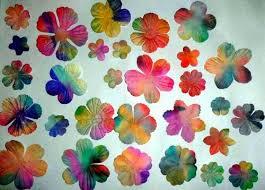 where to buy bleeding tissue paper tissue paper bleeding dyed paper flowers artrospectives