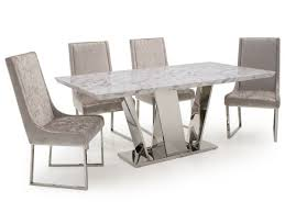 of olena champagne velvet dining chairs