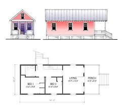 plans for cottages the katrina cottage model 544